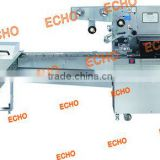 On Edge Biscuit Wrapping Machine with 3 Side Sealing Bag