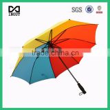 "China leading rainbow umbrella factory for all kind of advertising 23"" stick umbrella"