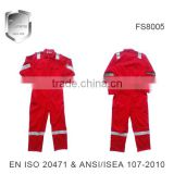 hi vis safety working red fire retardant coverall                                                                         Quality Choice