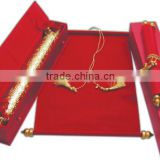 INquiry about buy exclusive wholesale price scroll wedding invitation in royal scroll box