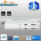 Cloudnetgo Intel Windows 10 TV Stick 32G USB Stick Mini PC Windows TV Box Android Mini PC,