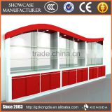 Supply all kinds of glass display counter,countertop slatwall display,cell phone accessory countertop display