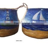 attractive style shopping seagrass basket
