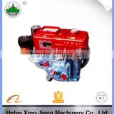 Chinese air cooled single cylinder diesel engine, model 186f 10 hp diesel engine for sale, 10hp air cooled diesel engine