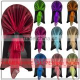 Organza Hoods Sashes wedding chair cover wraps bow sash                                                                         Quality Choice