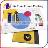 Staple colour book offset printing photo book soft cover perforate