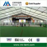 Outdoor sports hall tent with aluminum structure