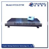 HYPS 10T Weighing indicator with weighing scale trays truck wheel balance portable axle car scale
