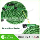 New Innovation Developed Magic Shrinking Flexible Bulk Garden Hose Reel/ Collapsible Expandable Gardenhose with Angle Valve