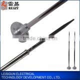 Stainless Steel single-needle lightning rod (H = 1.5m) lightning rod arrester thunder protection
