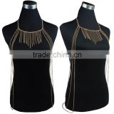 Beach tassel body chain sexy waist chain