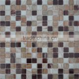 2015 new trend glass mosaic tiles glass mosaic with mesh-back shower floor mesh backed mosaic tiles