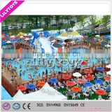 2015 play land water park toys park with slide pleasure park for sale ,outdoor playground equipment amusements