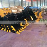 sell high intensity Q345/NM400 material zx200/ex200/ex220 for hitachi zaxis excavator rock bucket
