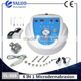 YALO 6 IN 1 Microdermabrasion Exfoliators machinewith good effect