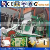 Efficient and energy saving 1575mm toilet paper bathroom paper making line machine, tissue paper machine manufacturer