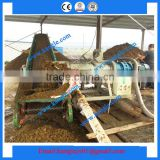 Cattle farm Manure solid Separator/ Cow farm manure water separator / Manure dewatering machine