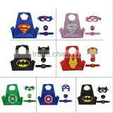 Doule layer Kids Adult Super Hero Capes