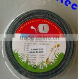 4.0mm saw blade Commercial Grade Nylon Grass Trimmer Brush Cutter Line with blister package