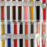 Silicone wristband for various watches