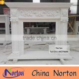Europe style artificial victorian marble fireplace NTMF-F829A