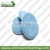 High Quality terry cloth wax applicator pad/microfiber wax applicator/wax applicator