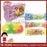 Circle Shape Soft Chewy Candy Yummy Gummy Candy