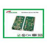 Hard Drive Bare Quick Turn Printed Circuit Boards With 2l Fr4 Material 0.8mm Flash Gold 1oz