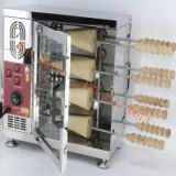 Hungarian ice cream chimney cake TRDLO stainless steel chimney cake grill electric chimnet cake oven factory