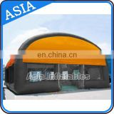 TOP Quality Yellow Inflatable Bubble Tent / Paintball Tent For Inflatable Interactive