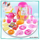 2017 High Quality New Kitchen Toys For Kids Plastic Pretend Food Toys