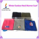 Lingshang winter neck heater multifunctional polar fleece bucket hat
