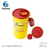Hot Sale Plastic Sharps Biohazard Container