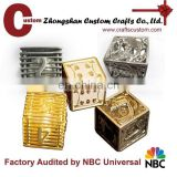 Dice type custom made experienced metal dice manufacturer