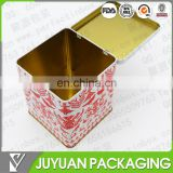 tobacco or tea square tin container manufacturer