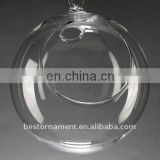 hanging glass ball candle holder for wedding Decor