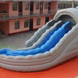 Inflatable slip and slide inflatable water slide axs-05