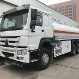 SINOTRUK HOWO 6x4 336hp 15,000L Fuel Tanker Truck Factory Low Cost
