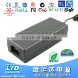 12V 5A 60W switch power adapter for LED LCD TV RGB(CE, FCC, C-tick, SAA, RoHS, UL etc certificates)                                                                                                         Supplier's Choice