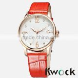 New fashion Leather Lady Watch from China Watch Factory
