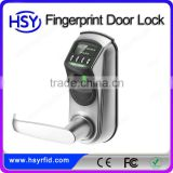 HSY-L7000 Best sale factory price biometric fingerprint door lock fingerprint/pin or key