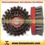 "4"" Round Antique Wire Brush for Natural Stone and4"" Round Antique Wire Brush for Natural Stone and Engineered Stone"