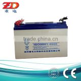 free maintance 12V lead acid battery 80AH battery for solar system                                                                         Quality Choice