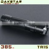 DAKSTAR TR15 XP-G R5 385LM 18650 CREE LED Police Rechargeable Mini Aluminum Magnet control Flashlight