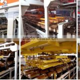 Clay ceramic tile making machine with automatic ceramic tile production line design and construction