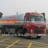 Jiefang 8*4 lpg gas tank truck,35.5m3 Biggest LPG Transportation Truck