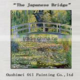 Top Artist Hand-painted High Quality Impression The Japanese Bridge Oil Painting On Canvas Reproduction Bridge Oil Paint Works