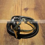 quarter most popular fashiong cool guy favourite round metal bracelet