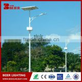 High quality 12v 60w solar led street light price solar powered outdoor light with solar panel