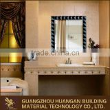High quality glass in glass antique bathroom vanity mirror